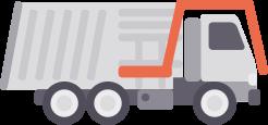 Icona sistemi di pesatura camion front loader