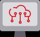 Icona gestione dati per peso certificato