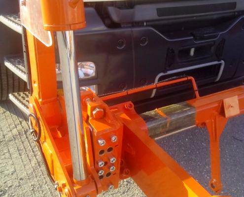 pesatura a bordo certificata front loader