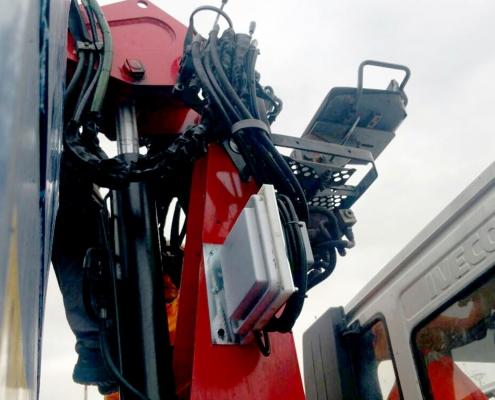 UHF per cassone e sistemi di pesatura su scarrabile