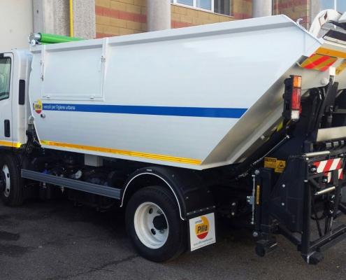 Pesatura camion vaschetta