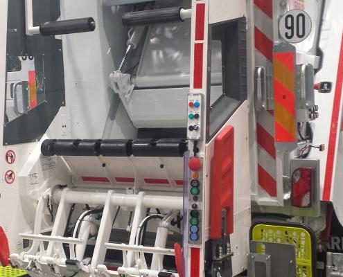 Pesatura a bordo camion identificazione RFID