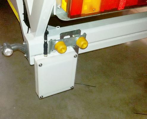 Sistemi di pesatura camion dettaglio UHF