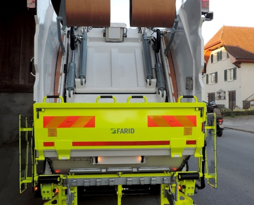 Pesatura a bordo camion e compattatore