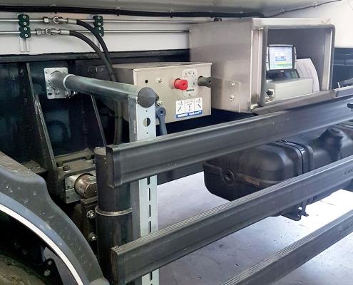 Sistemi di pesatura camion dettaglio semirimorchio