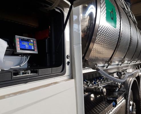 Sistemi di pesatura per cisterna