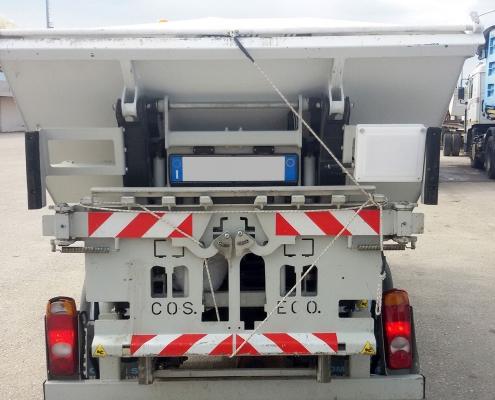 sistemi di pesatura per camion UHF-vaschetta