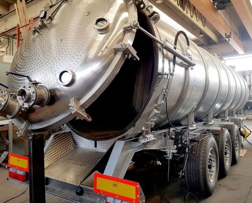 Cisterna liquidi pesatura a bordo