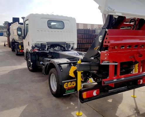 Pesatura a bordo camion vaschetta