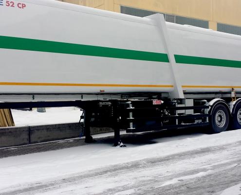 Sistemi di pesatura camion per semirimorchio