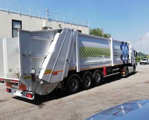 Sistemi di pesatura camion semirimorchio