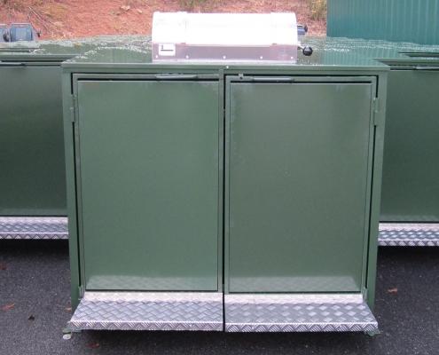 cassonetto intelligente verde contenitore