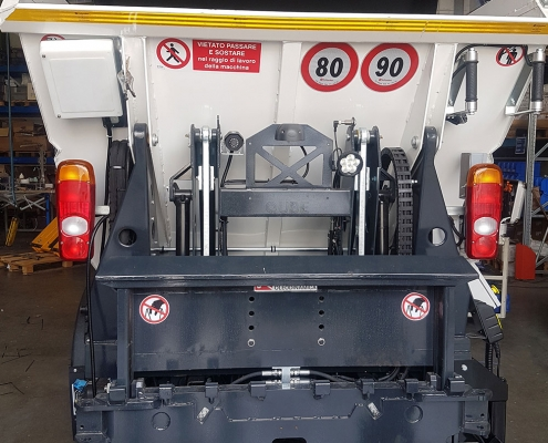 sistemi di pesatura per camion UHF vaschetta